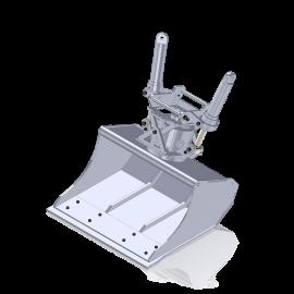 Wide Tilt Rotator Bucket