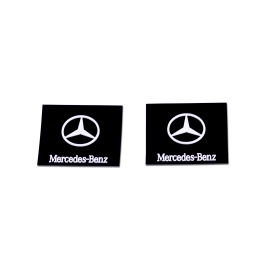 Mercedes Mudflaps ( Small )