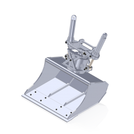 Wide Tilt Rotator Bucket